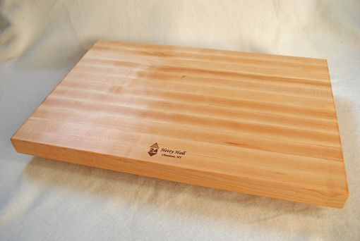 Custom Made Solid Maple Edge Grain Personalized Cutting Board