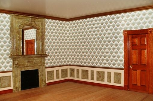 Custom Made Dollhouse Interiors And Finishes!