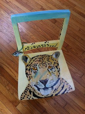 Custom Made Cougar Chair