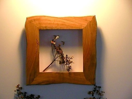 Custom Made Rustic Cherry Lodge Frame