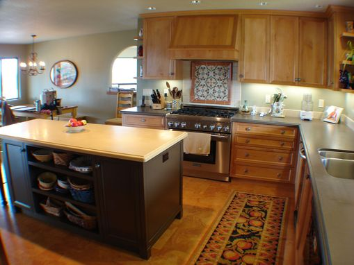 Custom Made Wine Country Kitchen