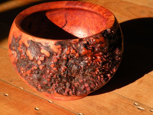 Custom Made Briar Burl Bowl