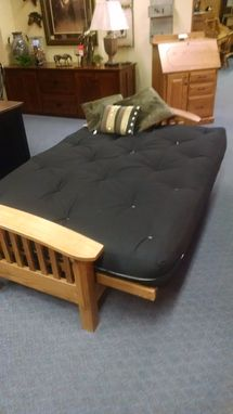 Custom Made Mission Futon W/ Mattress