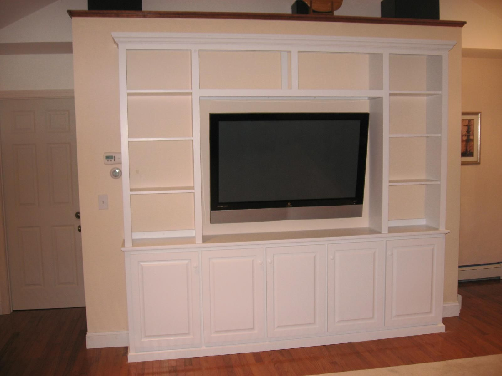 Handmade Entertainment Center By Battermans Custom