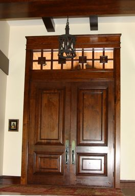 Custom Made Cherry Doors & Millwork