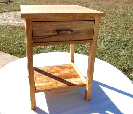 Custom Made Spalted Maple Nightstand