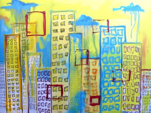 Custom Made Commission Painting For Client In Santa Monica Ca.