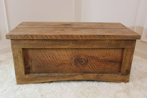 Custom Made Storage Chest/ Coffee Table