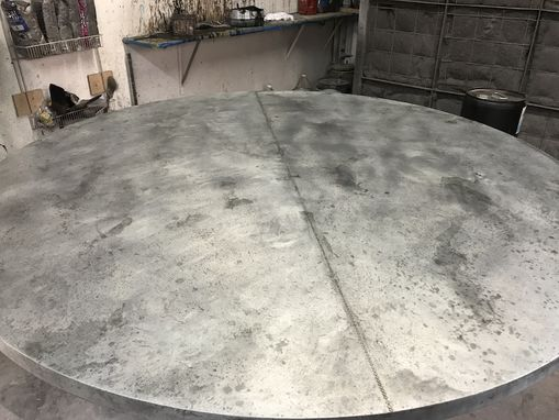 Custom Made Henrik, Zinc Round Dining