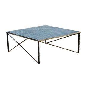 Industrial Art Metal Coffee Table By Raymond Guest