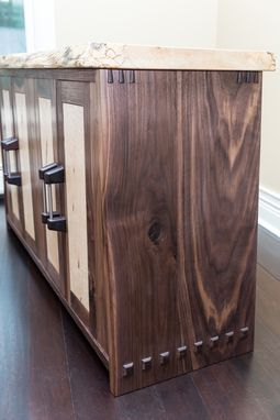 Custom Made Walnut Buffet