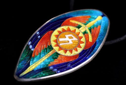 Custom Made Op Six Winged Warrior Pendant