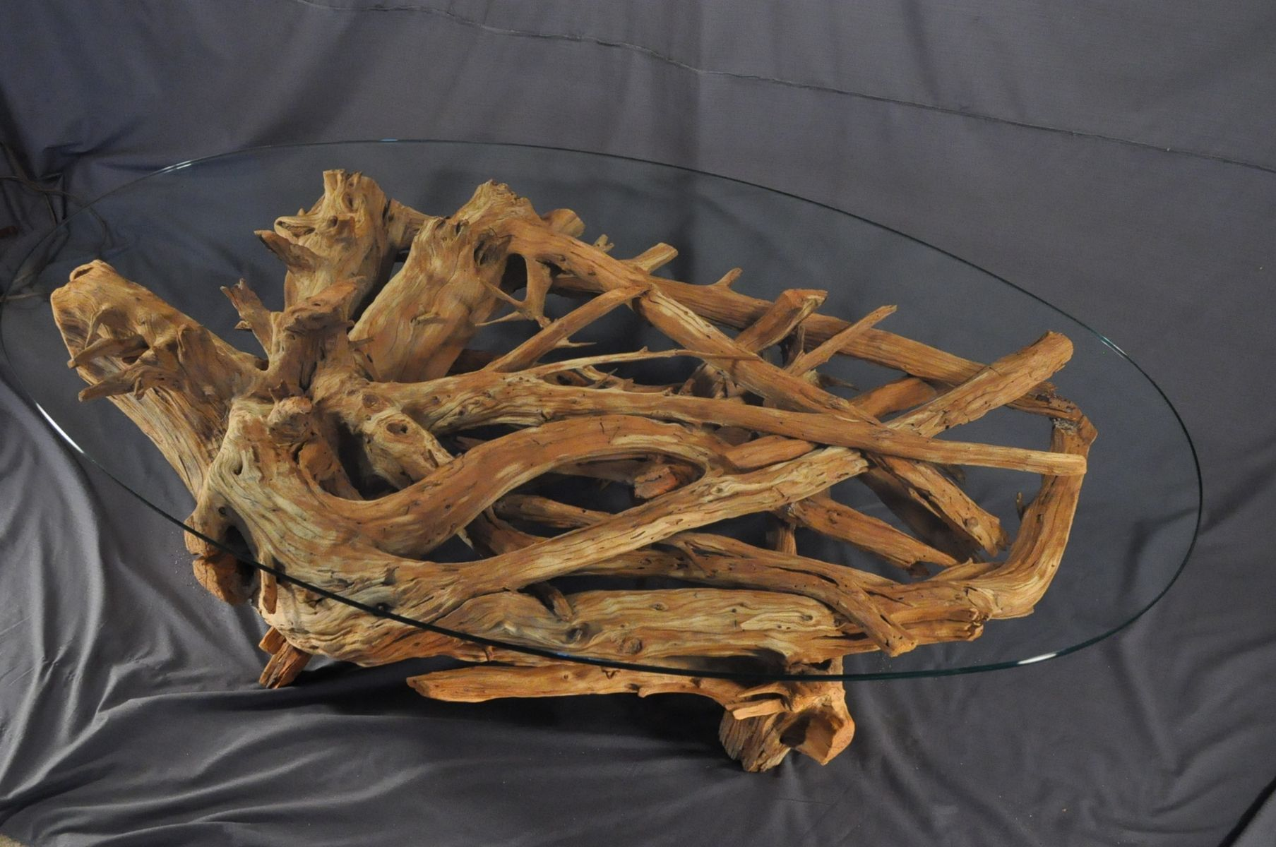 custom made driftwood coffee table - Driftwood Coffee Tables For Sale