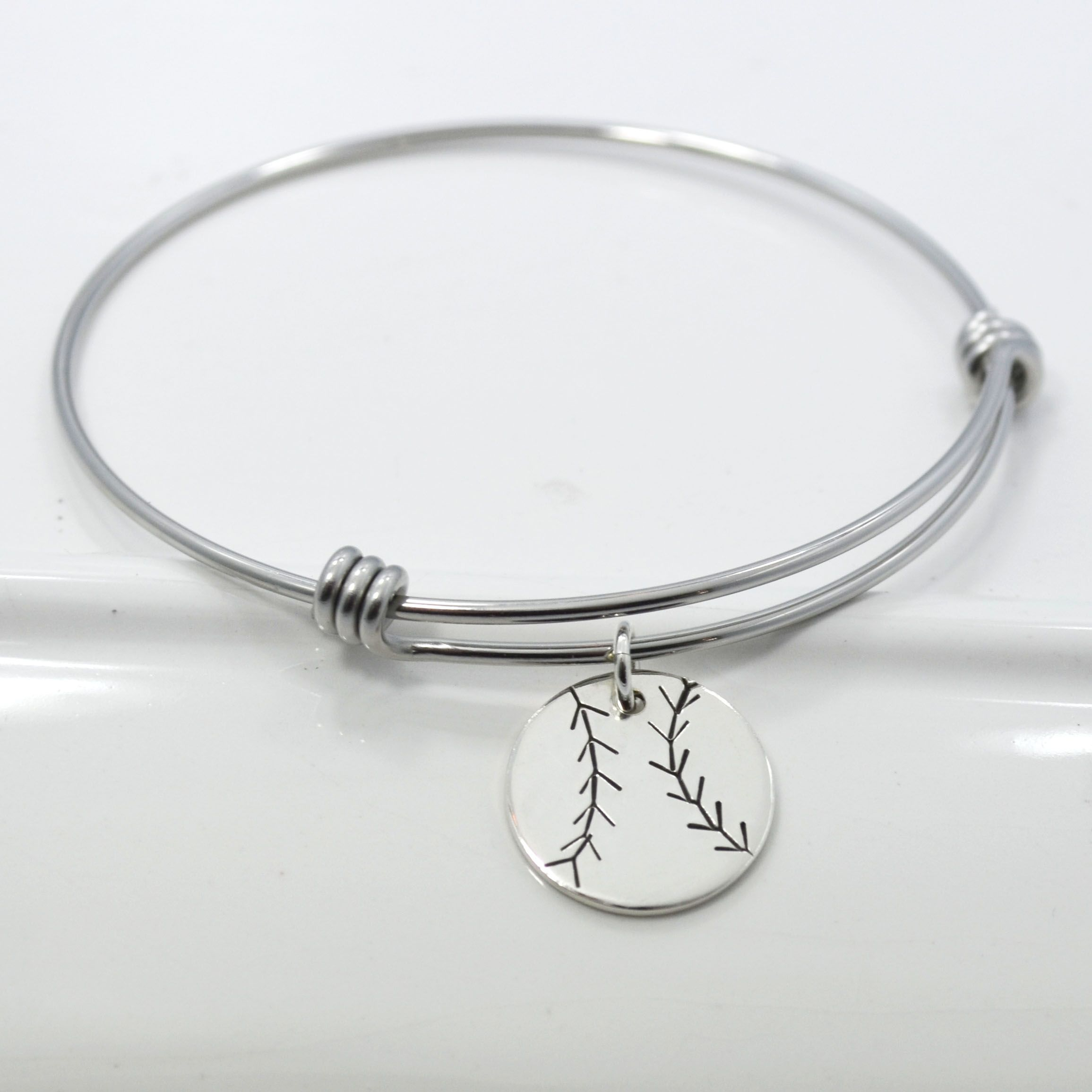 bangle product small angled skulls bracelets bangles silver thin