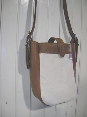 Custom Made Cross Body Tote Bag