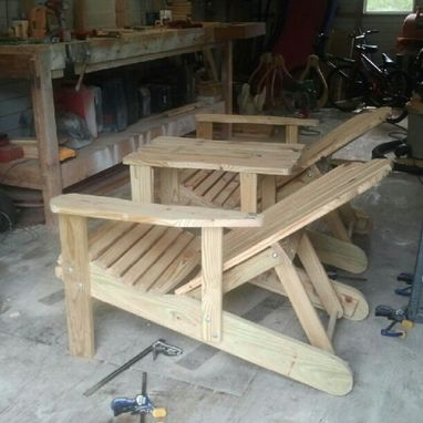 Custom Made Reclining Adirondack Chairs