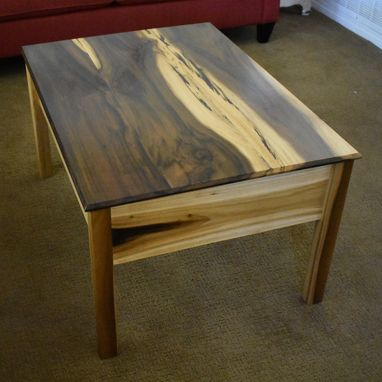 "Custom Made ""Sub Rosa"" Coffee Table"