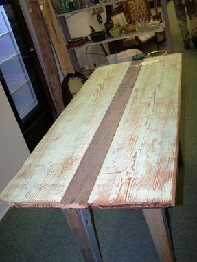 Custom Made Farm Table