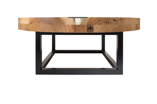 Custom Made Rustic Modern River Table