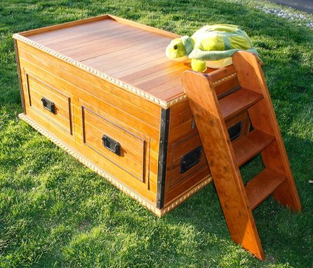 "Custom Made ""Sea Chest Bed"""