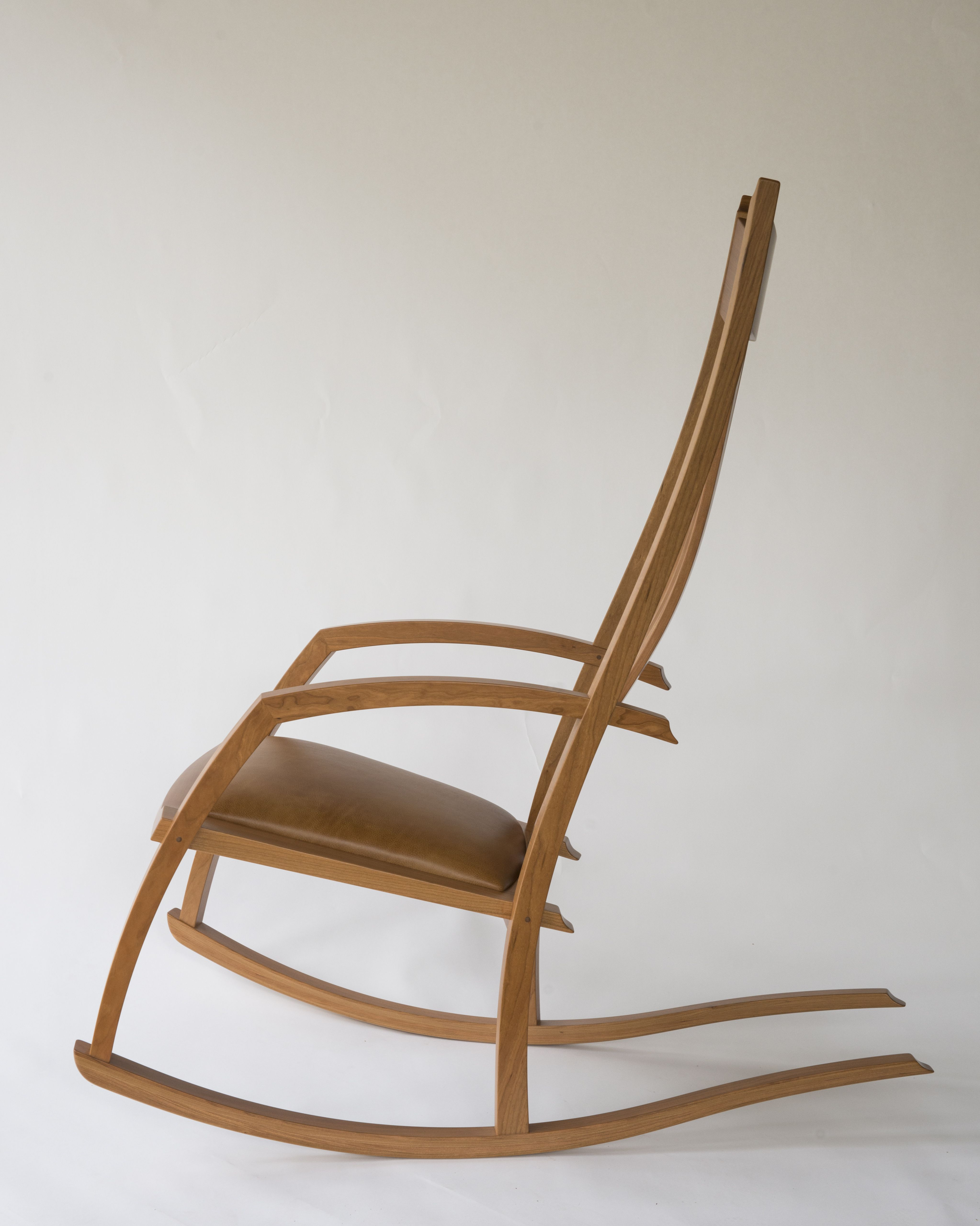 Buy Hand Crafted Scandinavian Style Rocking Chair With Long