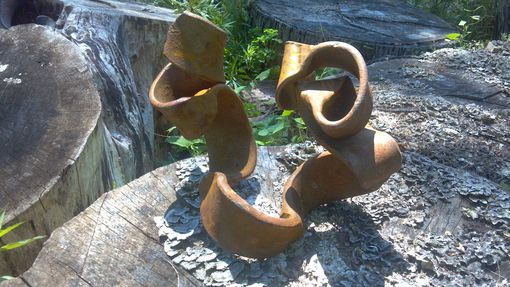 "Custom Made ""Ribbin Like Solid Forged Steel Sculptures"""