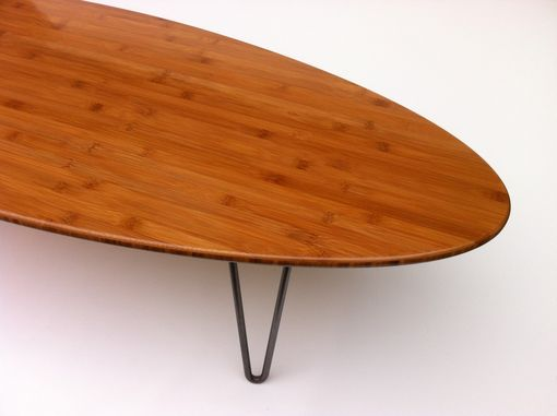 Custom Made 47 Elliptical Coffee Table