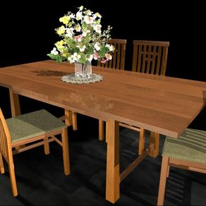 Mission dining tables craftsman arts and crafts stickley style maher prairie dining table by jim edgar workwithnaturefo