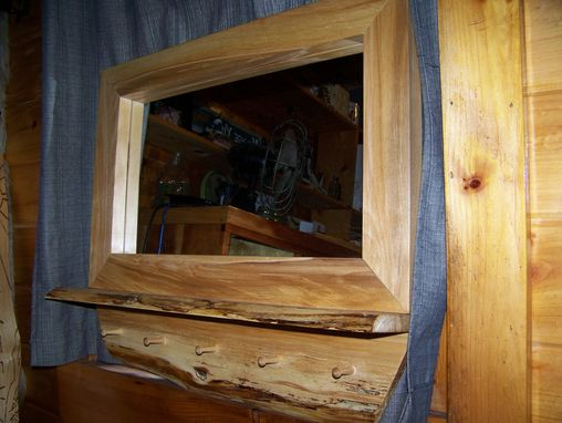 Custom Made Yellow Birch Mirror