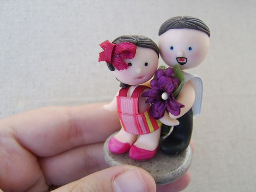 Custom Made Custom Miniature Couple Picture Holder - Super Cute Miniature