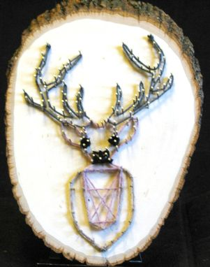 Custom Made Deer Bust String Art