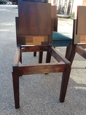 Custom Made Copy Of Period Art Deco Chair