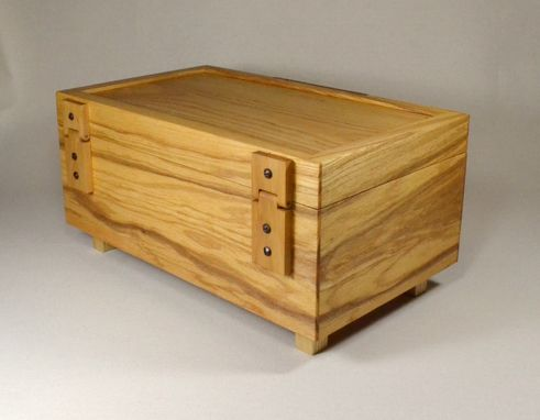 Custom Made Ash Wooden Box
