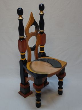 Custom Made Handcrafted Decorative Chair