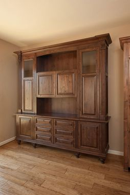 Custom Made Spanish Style China Hutch