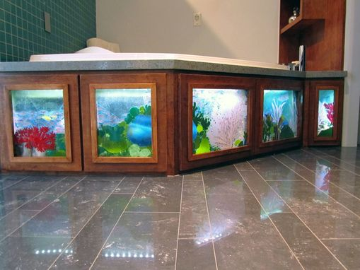 Custom Made Massage Bathtub Skirt – 5 Panels – 2011