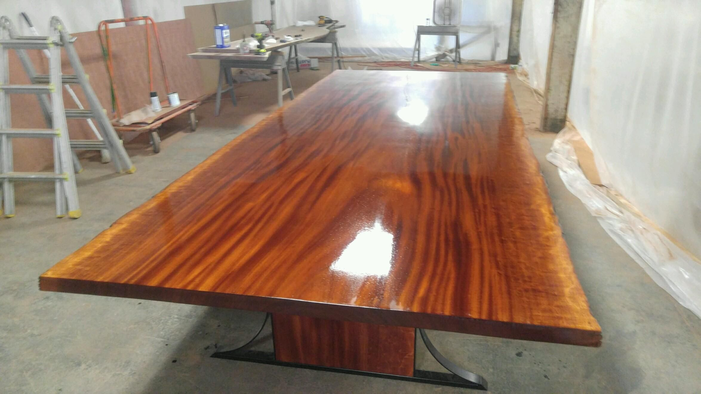 Custom Sipo Mahogany Dining Table by Donald Mee Designs  : 1422511102563 from www.custommade.com size 2348 x 1321 jpeg 244kB