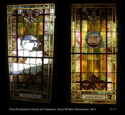 Custom Made Leaded Window Restoration