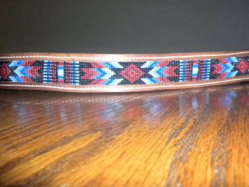 Custom Made Leather Beaded Belts