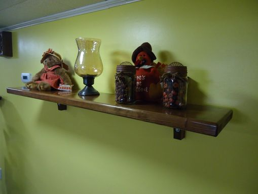 Custom Made Unique Rustic Floating Shelfs