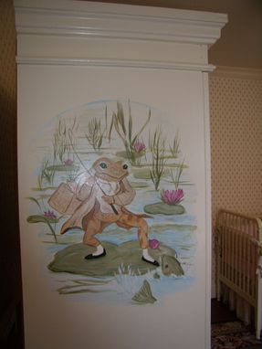 Custom Made Decorative Armoire For A Girls Nursery