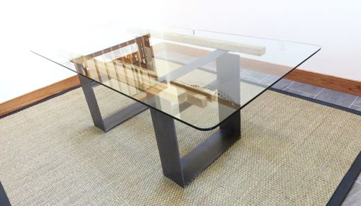 Custom Made Mimimalist Industrial Dining Table / Executive Desk