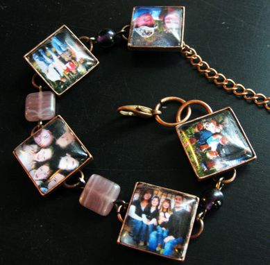 Custom Made Custom Photo Bracelet