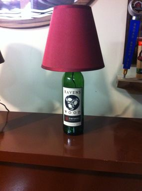 Custom Made Wine Bottle Lamp