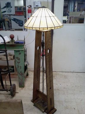 Custom Made Arts And Crafts Inspired Lamp