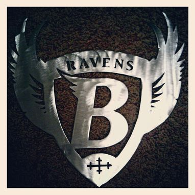 Custom Made Sports Fan Steel Signs