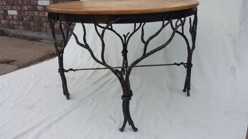 Custom Made Branch Siluoette Table