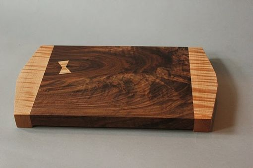 Custom Made Walnut And Curly Maple Cutting Board