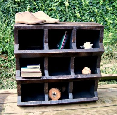 Custom Made Chicken Coop Storage Bin