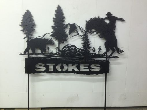 Custom Made Yard Sign